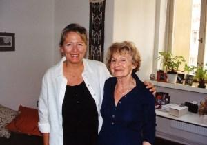 Helena Třeštíková + Heda Margolius Kovály - author photos © Vlastimil Hamernik