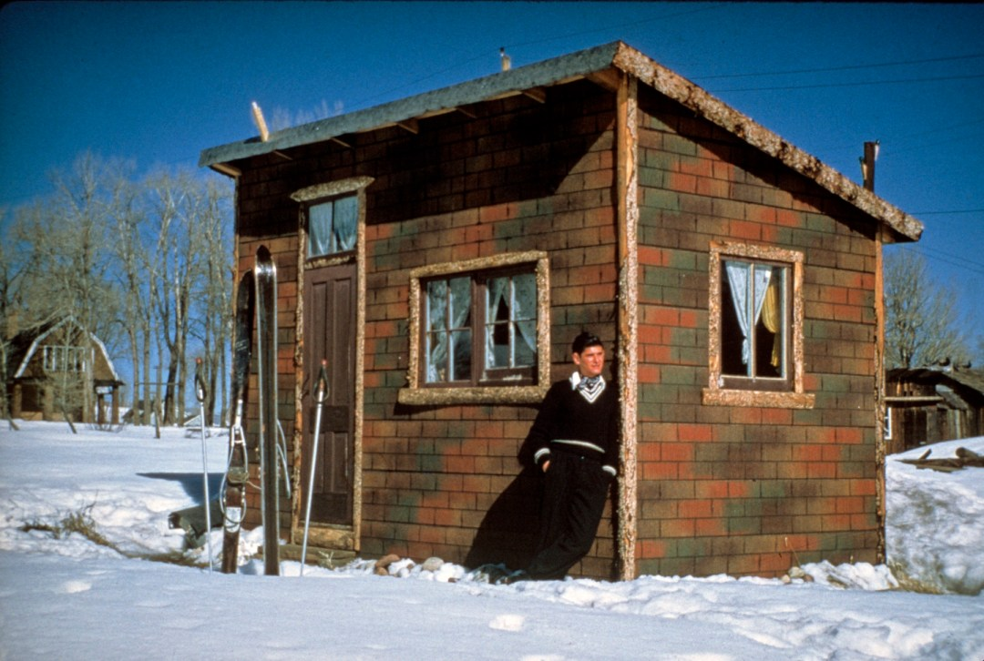 Cabin completed 1950