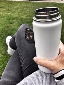 In Ruhe Kaffee trinken