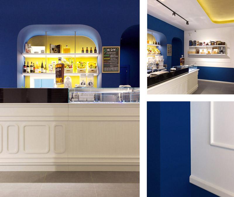 Progettazione Caffetteria Cocktail Bar