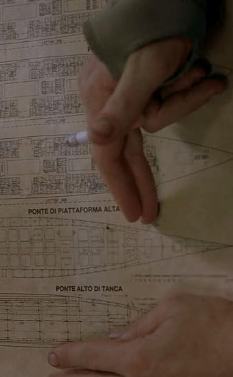 Mappa della nave con altre traduzioni sbagliate