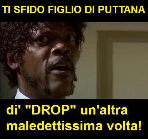 Drop drop drop