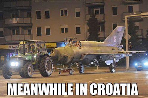 Nel frattempo in Croazia