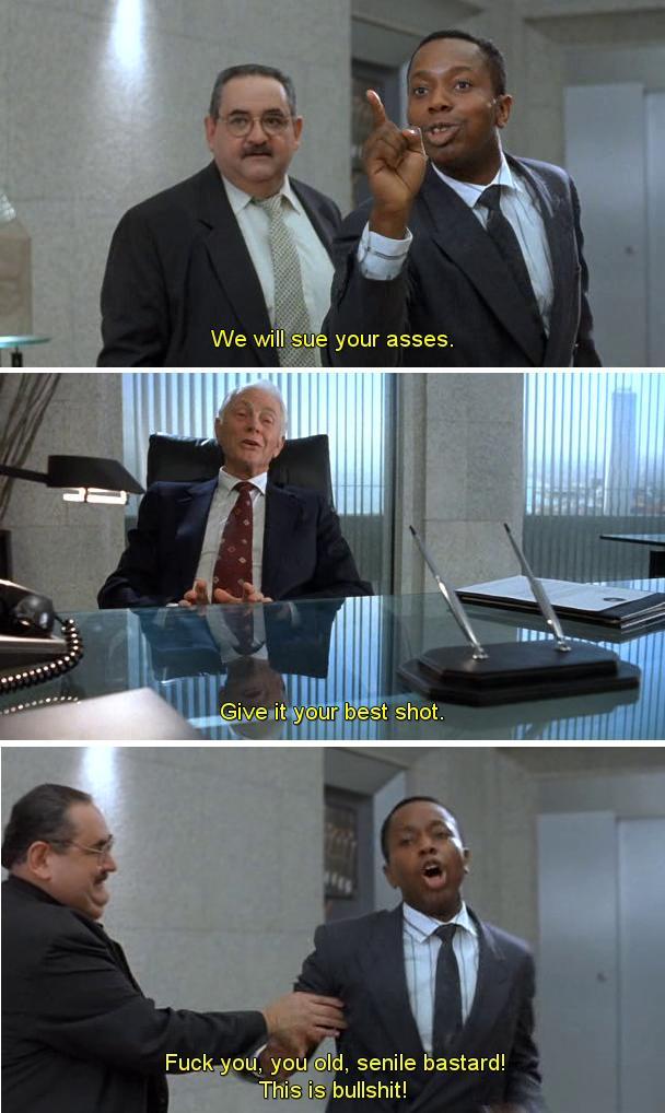 Scena del sindaco in Robocop 2