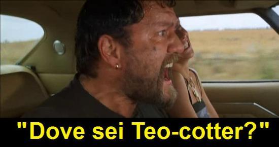 Scena di Interceptor dove Nightrider chiama Toecutter come Teocotter
