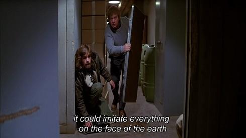 The Thing - potrebbero imitare qualunque essere sulla faccia della terra