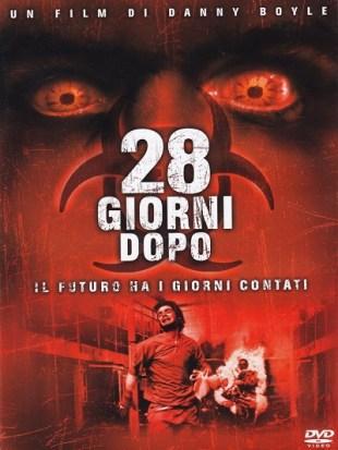 Copertina DVD italiana di 28 giorni dopo