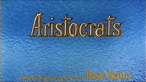 Titolazione tedesca di Gli Aristogatti con canzoni di Paul Kuhn