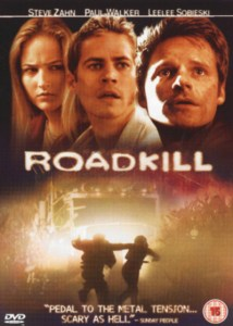 DVD ukdi Joy Ride con titolo Roadkill
