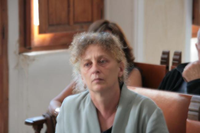 Cinzia Andrei assistente al doppiaggio, una foto recente