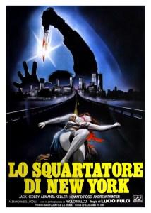 Locandina di Lo squartatore di New York di Lucio Fulci