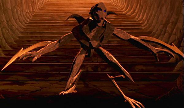 Personaggio in CGI di Odin doppiato da Billy Idol, nel film Heavy Metal 2000