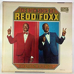 The Both Sides of Redd Foxx, copertina del vinile