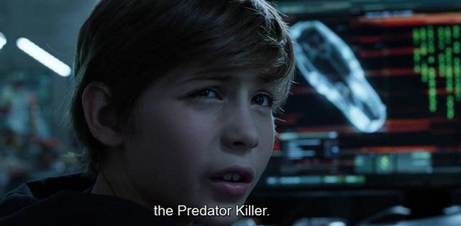 Il predator killer, scena da The Predator 2018
