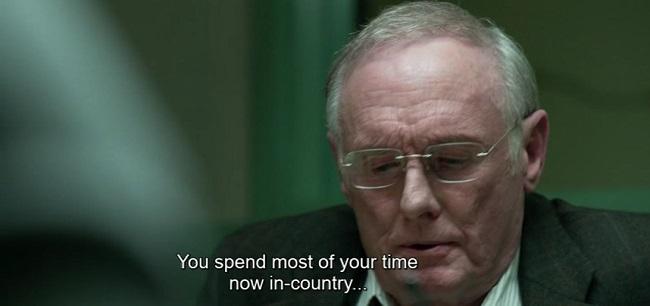 Scena dello psicologo dal film The Predator (2018)