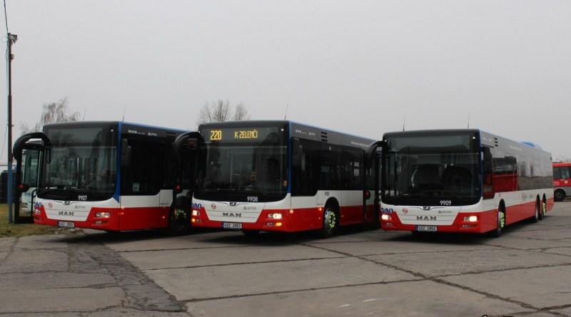 Arriva zařazuje v Praze do provozu nové tříosé autobusy MAN