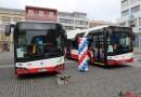 V Ústí nad Labem představili nové autobusy a trolejbusy