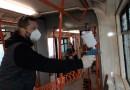 V Brně testují ve dvou tramvajích ochranný antibakteriální prostředek