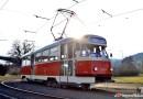 DPP vypravil o prvním březnovém víkendu tramvaje T2 na linku číslo 2