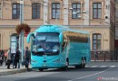 Arriva postupně rozjíždí expresní autobusy, první vyjede mezi Teplicemi a Prahou