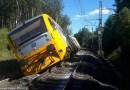 U Lázní Kynžvart došlo odpoledne k vykolejení osobního vlaku