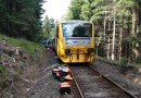 Mezi Perninkem a Novými Hamry došlo k čelní srážce dvou osobních vlaků