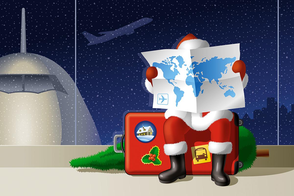 Christmas and Leaflet Distribution