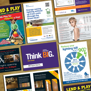 Leaflet Design Printing And Door Drops