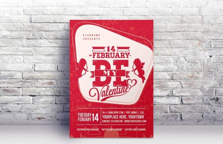 Valentines day advertising