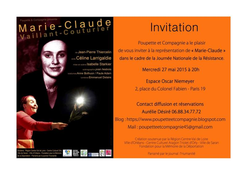 invitation marie claude
