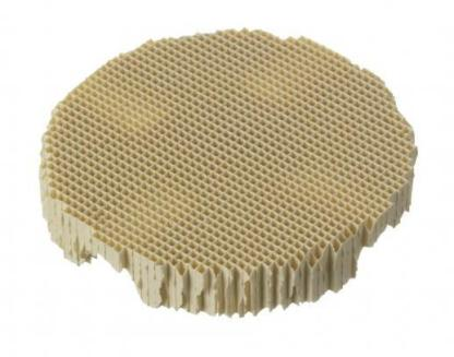 Honey-Comb Round Furnace Tray