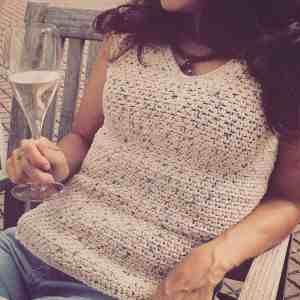 Crochet Summer Tank Top Dora Does