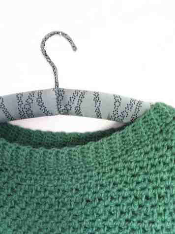 The Upsidedown Crochet Sweater Pattern from Doradoes.co.uk