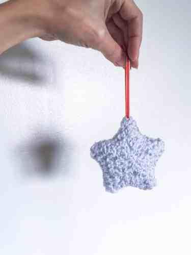 twinkle crochet 3d star