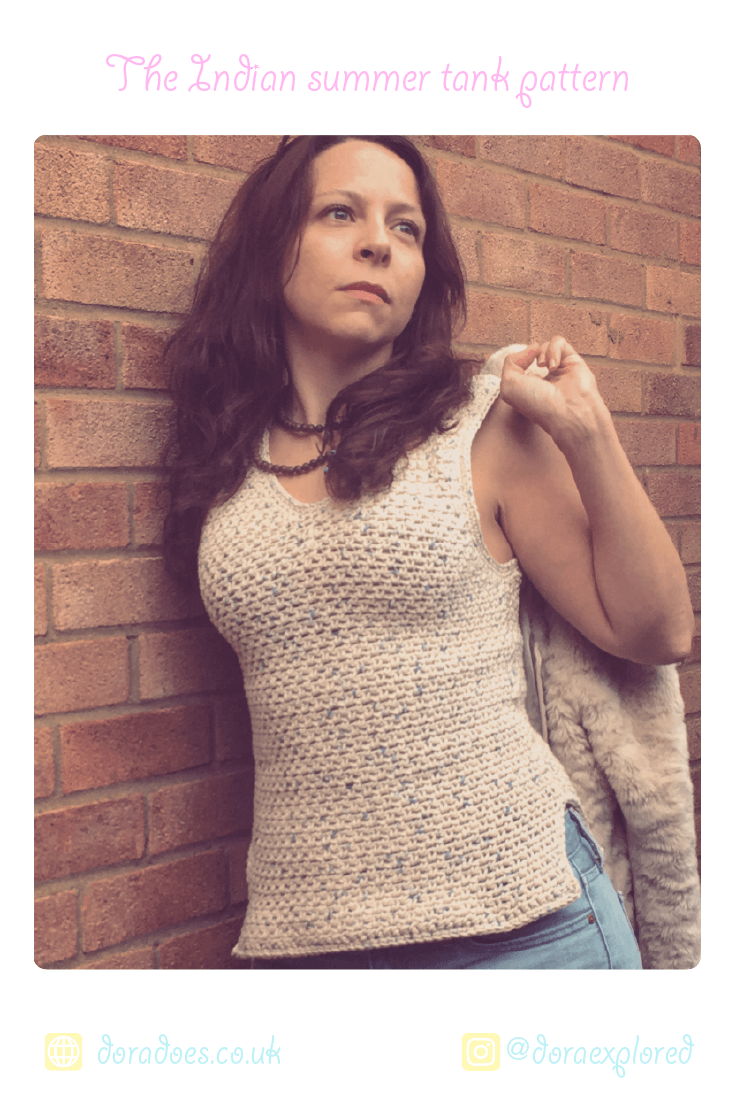 crochet cotton vest top pattern ideal beginners easy quick summer