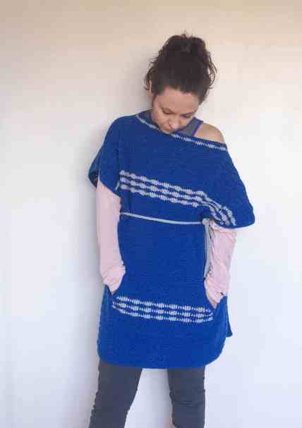 crochet poncho from doradoes.co.uk