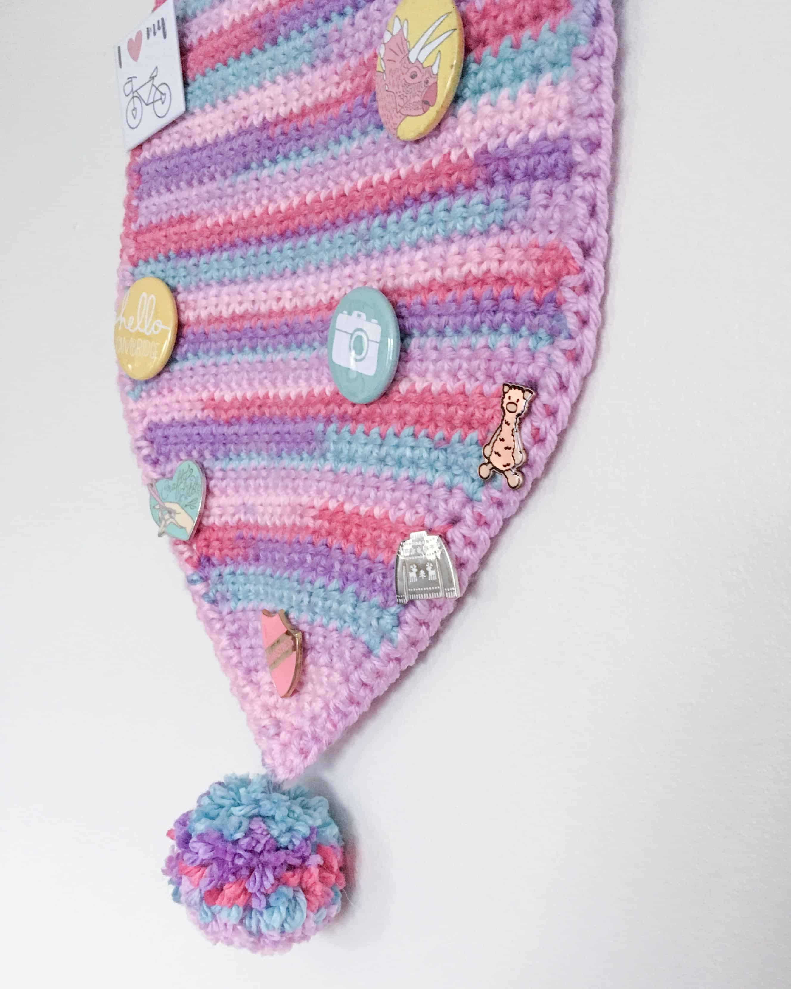 Get Your Pin On Crochet A Pin Banner Dora Does