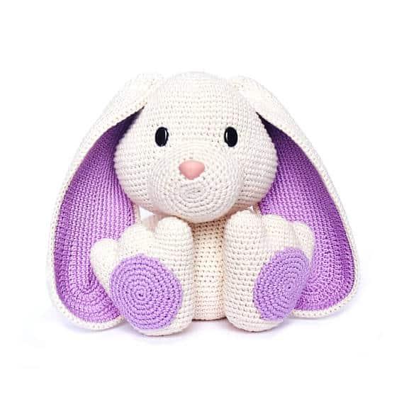 Crochet easter bunny amigurumi