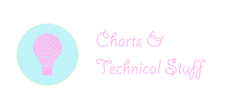 page header crochet charts and technical stuff with yarn lightbulb