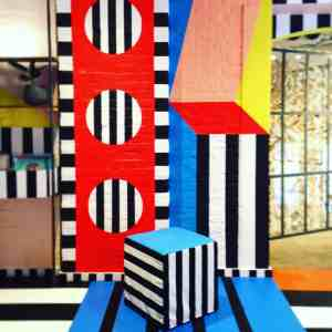 camille walala art installation stripes dots and colours