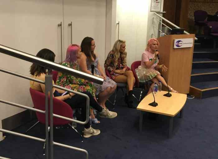 Panel discussion at BlogconLdn 2018