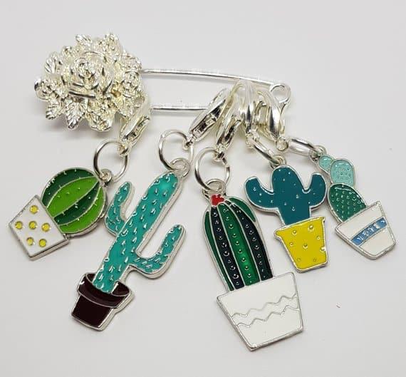 cactus stitch holder