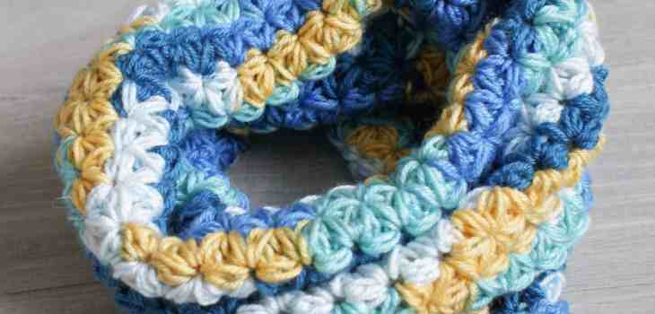 Jasmine Stitch Crochet Snood