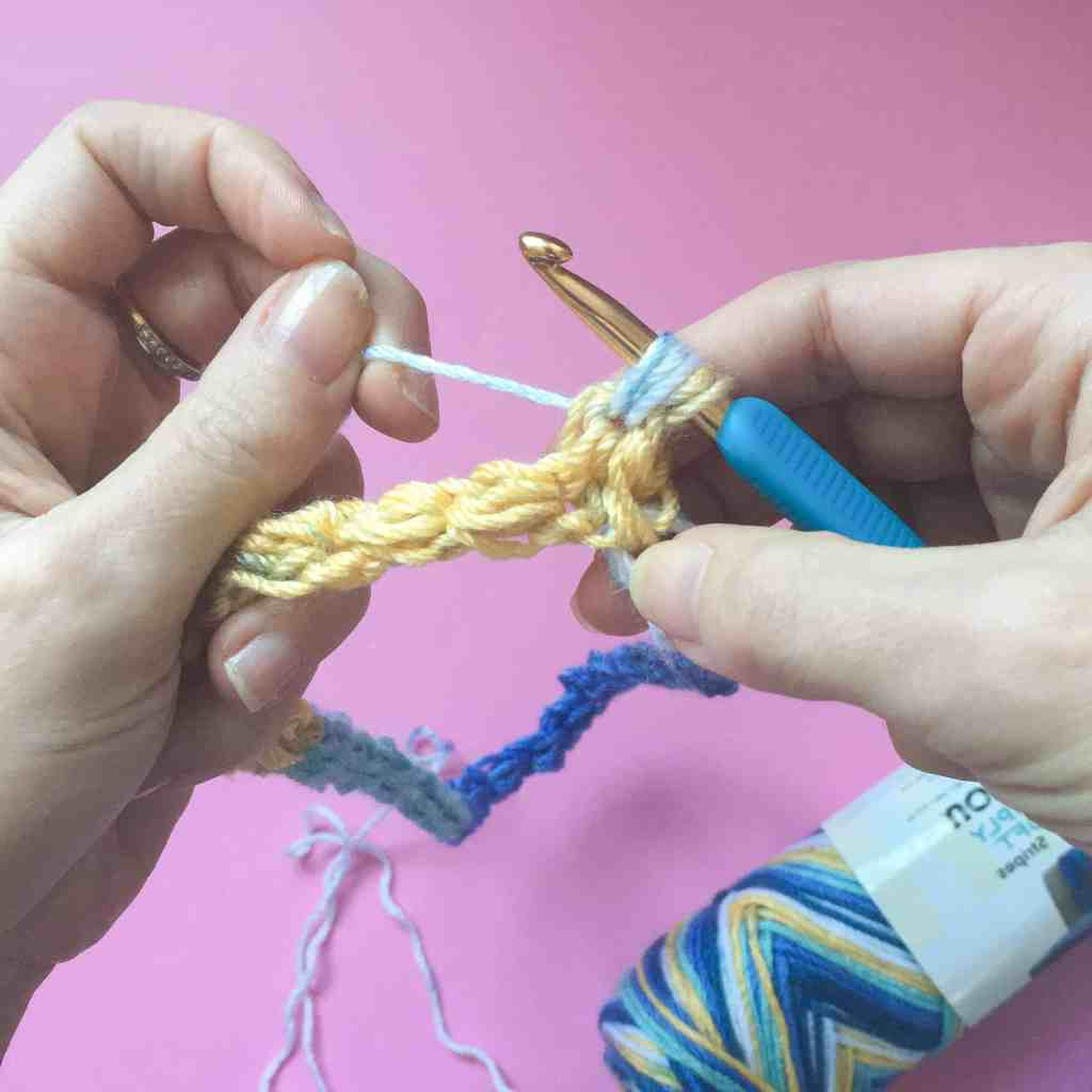 Crochet Jasmine Stitch tutorial