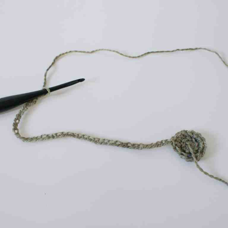 Crochet hook and crochet pattern
