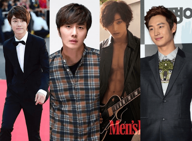 Kwak Dong Yeon, Jung Il Woo, Jung Jin Woon, Lee Je Hoon