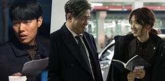 Ryu Joon Yul e Park Shin Hye mostram química com Choi Min Sik nas imagens de Silent Witness
