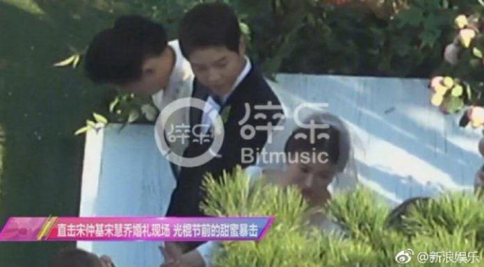 Veja as fotos do de Song Joong Ki e Song Hye Gyo no casamento do ano!
