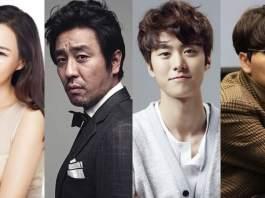 Honey Lee, Ryu Seung Ryong, Gong Myung, Lee Dong Hwi estão confirmados para estrelar novo filme de comédia
