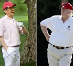 トランプ大統領,ゴルフ場,どこ,料金,スコア,いくら